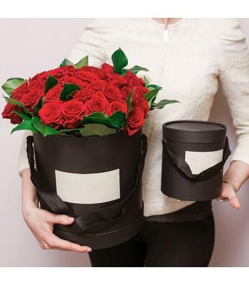 Flowerbox - róże w pudełku