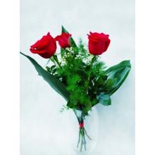 Bukiet 3 róże